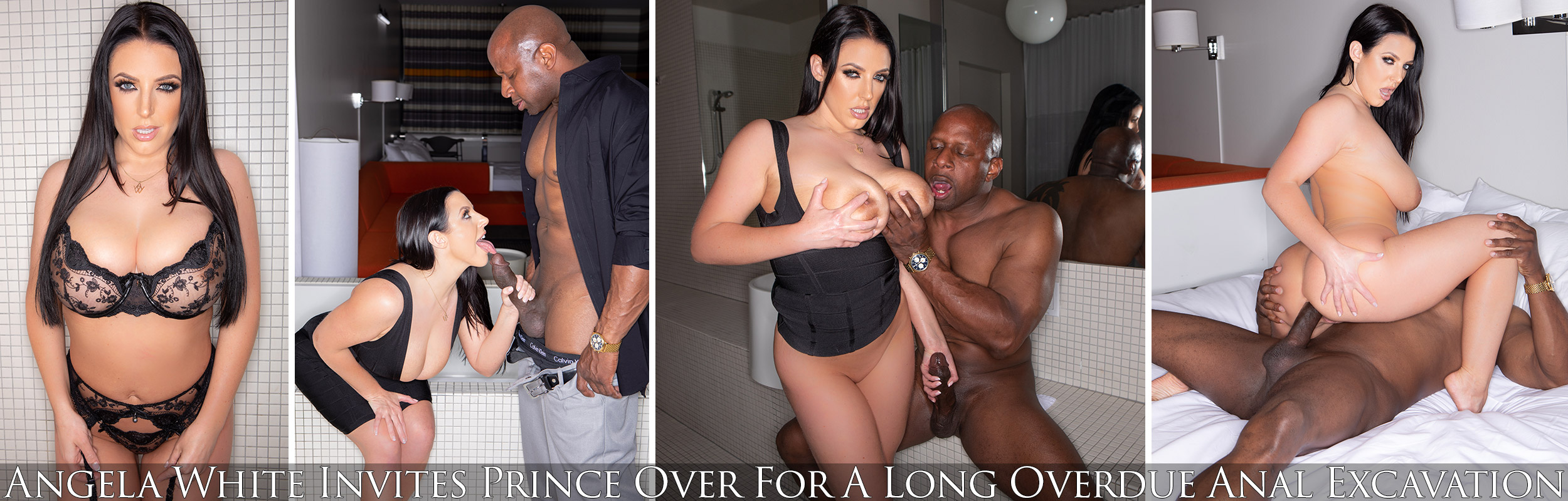 Angela White Invites Prince Over For A Long Overdue Anal Excavation
