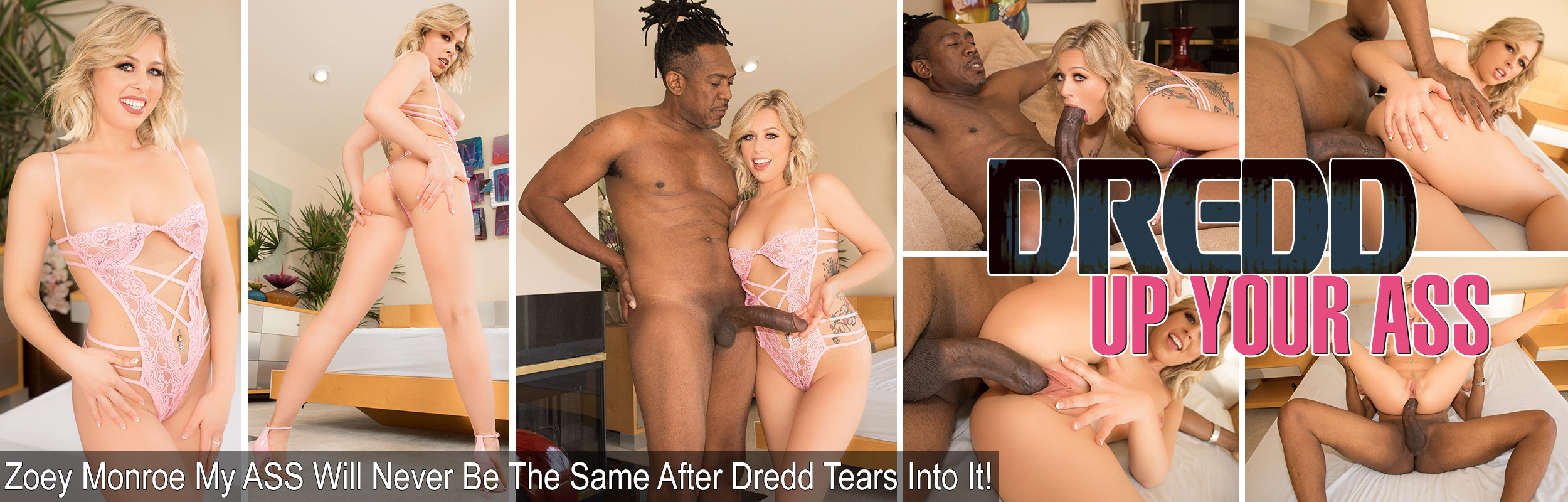 Zoey Monroe My ASS Will Never Be The Same After Dredd Tears Into It!