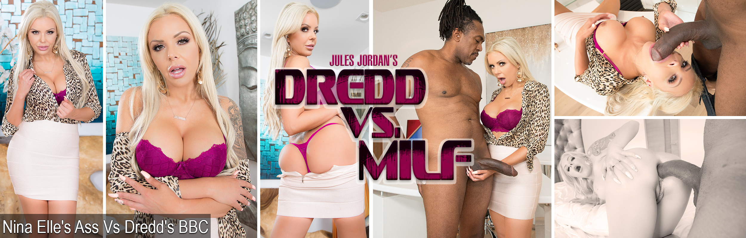 Nina Elle's Ass Vs Dredd's BBC