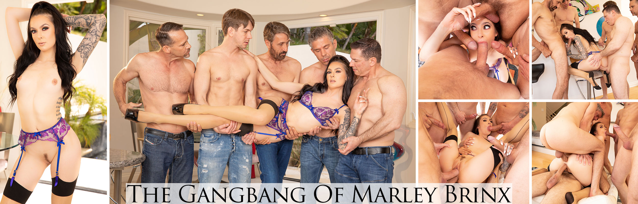 The Gangbang Of Marley Brinx