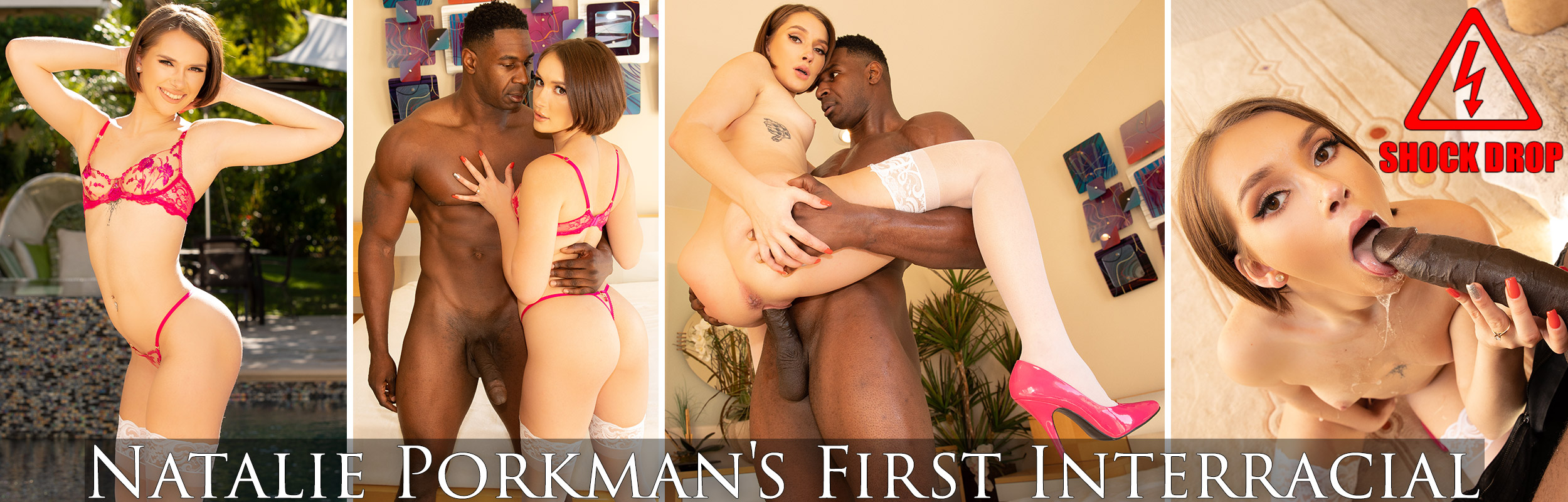 Natalie Porkman's First Interracial