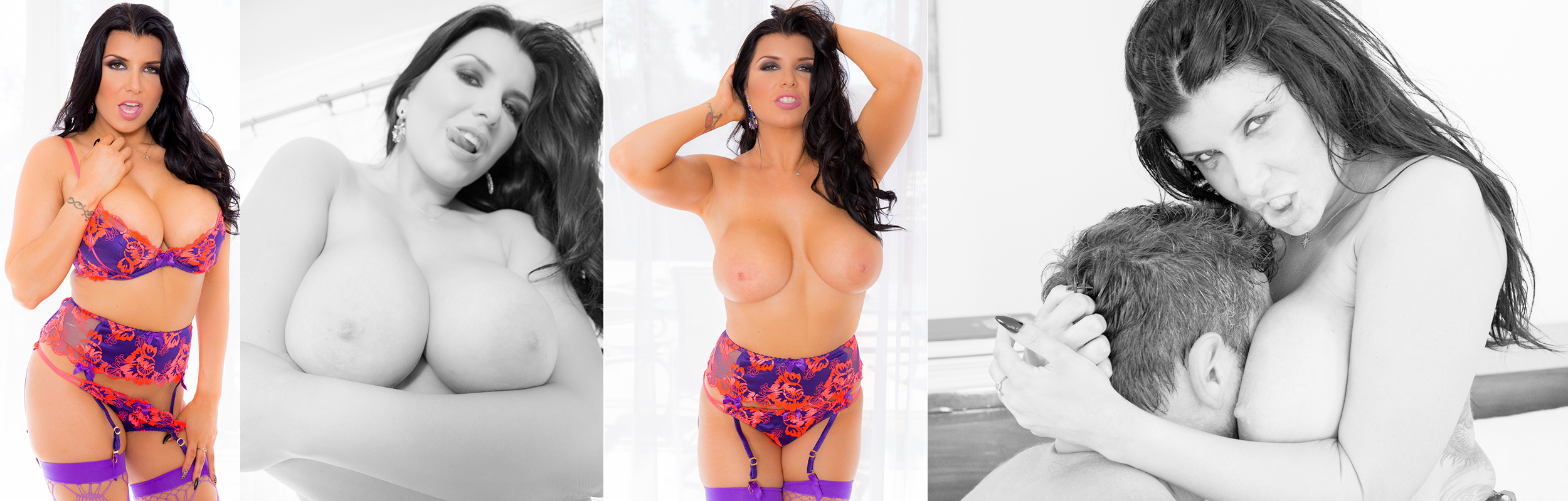 Romi Rain's Magnificent Tits Can't Stop Manuel From Entering Her Back Door