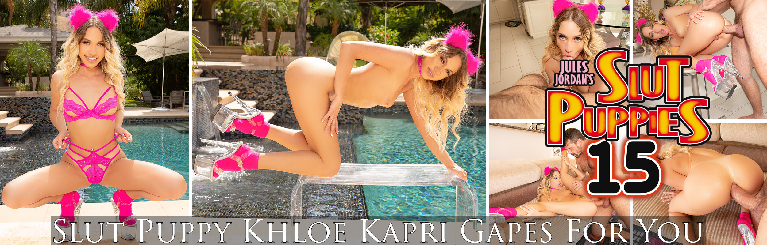 Slut Puppy Khloe Kapri Gapes For You