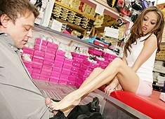Jenna haze foot fetish shoe store trouve