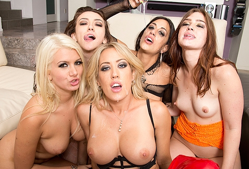 Orgy sex party interacial