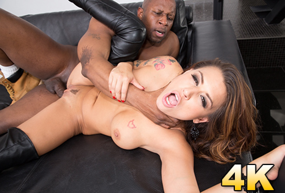 Black First Cock Angelina Eva