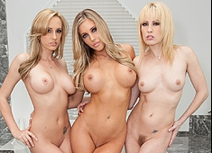 Samantha Saint & Friends Pussy Licking Party