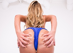 Carter Cruise's Wet Ass Ready For Penetration