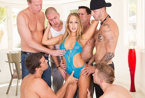 Nina elle gets gangbanged by black guys 4