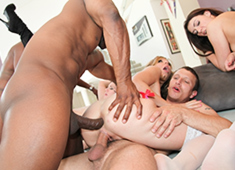 Orgy Masters Interracial Anal And DP Fest