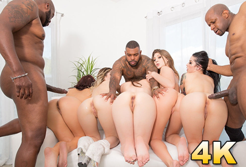 Line up for anal