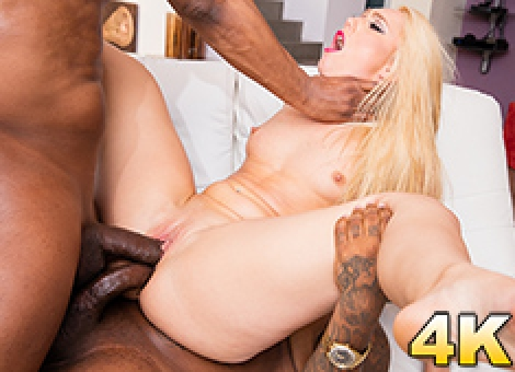 AJ Applegate Double Penetrated By Two Black Studs
