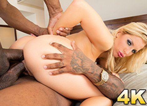 Ashley Fires Gets A Surprise Double Black Penetration