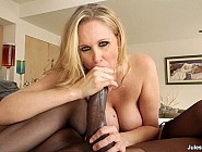 Busty MILF Julia Ann Gets Stuck On Mandingo